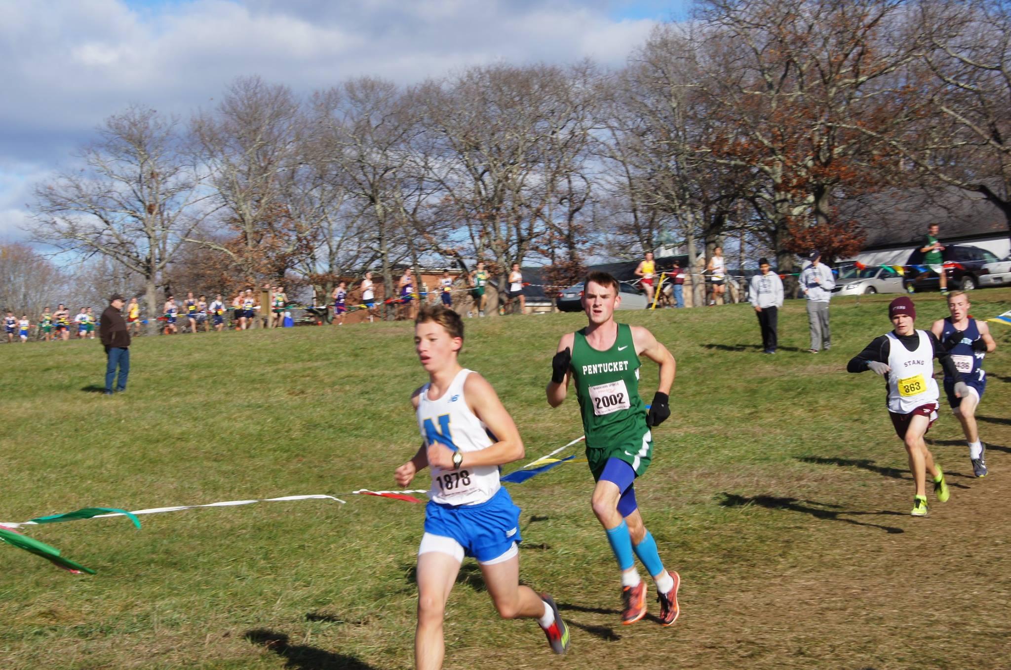 Ethan Bridgewater running.
