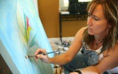 Volunteer Paint Night at Inn Between Homeless Shelter