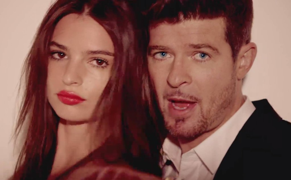 http://www.vevo.com/watch/robin-thicke/blurred-lines-unrated-version/USUV71300526