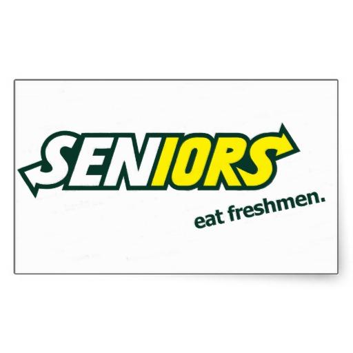 Freshmen...Seniors...What's the Difference?