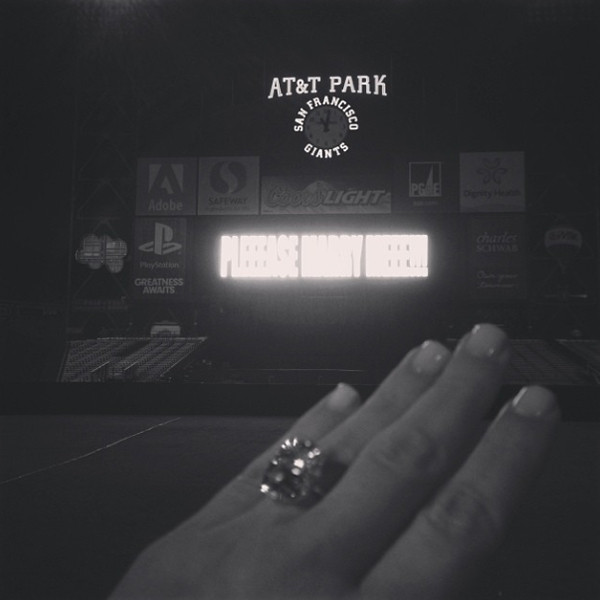 Yeezus! Kim and Kanye are Engaged!