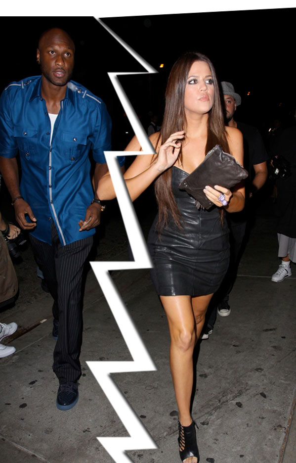 "Khloe and Lamar are not ""Unbreakable"" after all."