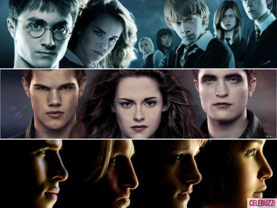 Harry Potter vs The Hunger Games vs Twilight