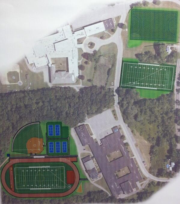 New Sports Fields for Pentucket