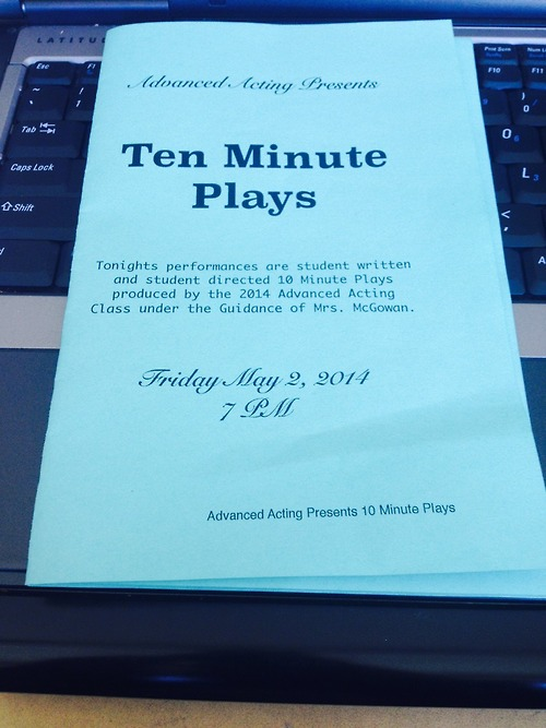 Ten Minute (And Twenty Minute) Plays