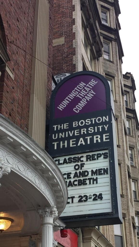 Boston University Theatre Field Trip
