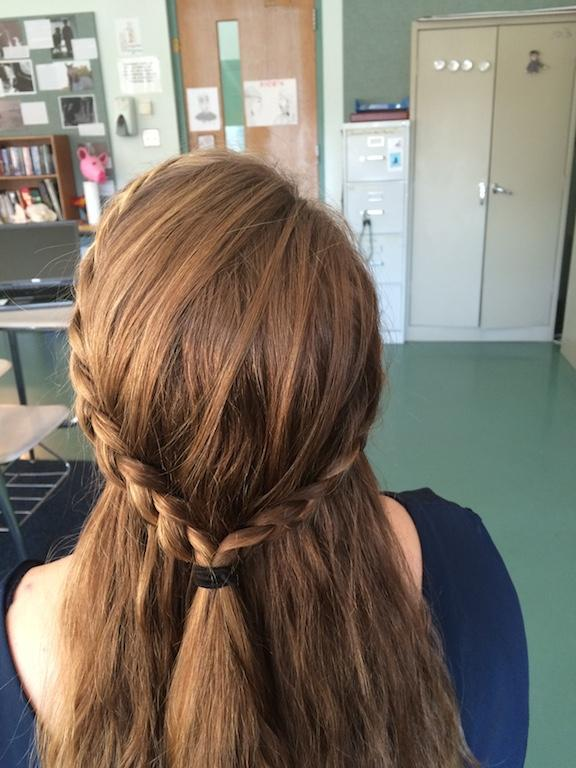 heart shaped braid