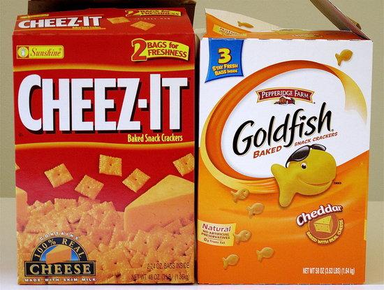 Goldfish vs. Cheez-Its