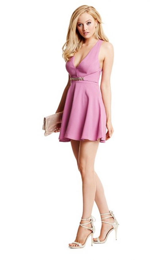 Amelia Halter Dress