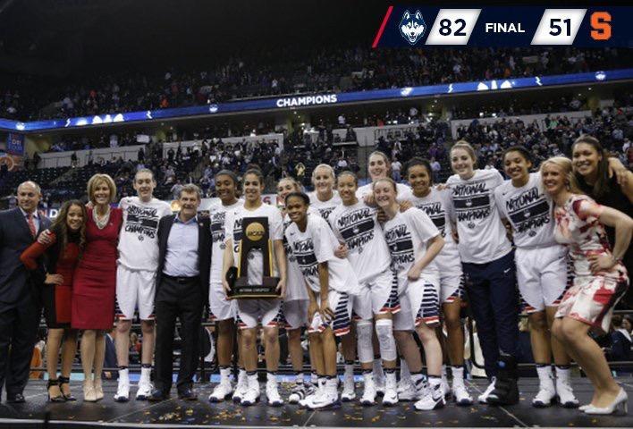 UConn Women's Basketball Makes History