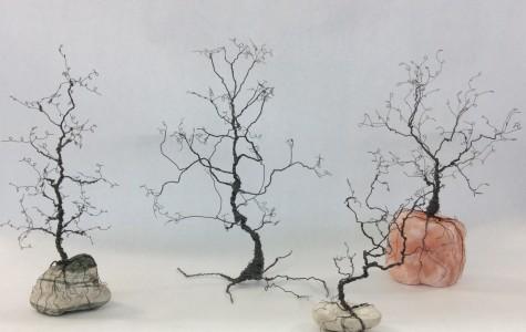Wire Sculpture Art Field Trip Photos