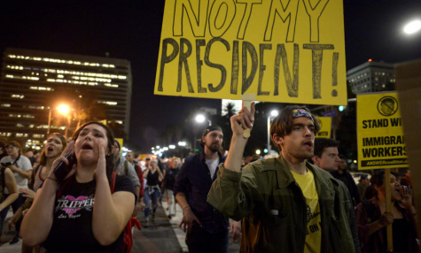 News or Noise? Not My President Protests