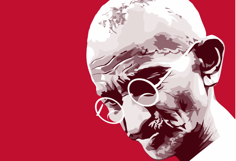 Should Gandhi Have a Place on Our Walls?