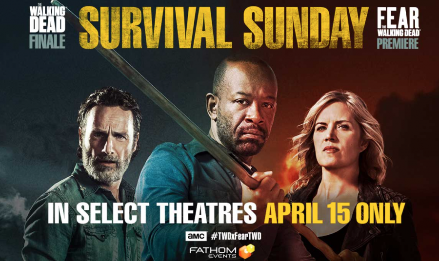 The Walking Dead Finale and Fear the Walking Dead Premeire to Air in Theatres