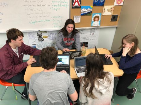 Pentucket Students Take National Etymology Exam