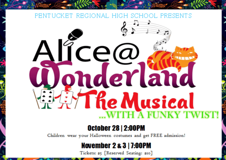 Alice @ Wonderland The Musical … With a Funky Twist