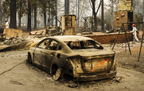 Raging Fires Take Out the Town of Paradise, California