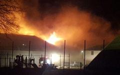 Last Year's Cedardale Fire